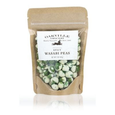 Oakville Grocery Spicy Wasabi Peas