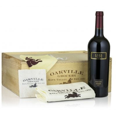 Cabernet Delight - Oakville Wine Merchant Gift Set