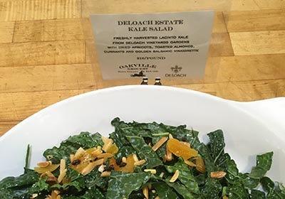 DeLoach Winery Lacinato Kale Salad