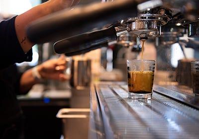 Oakville Grocery espresso machine